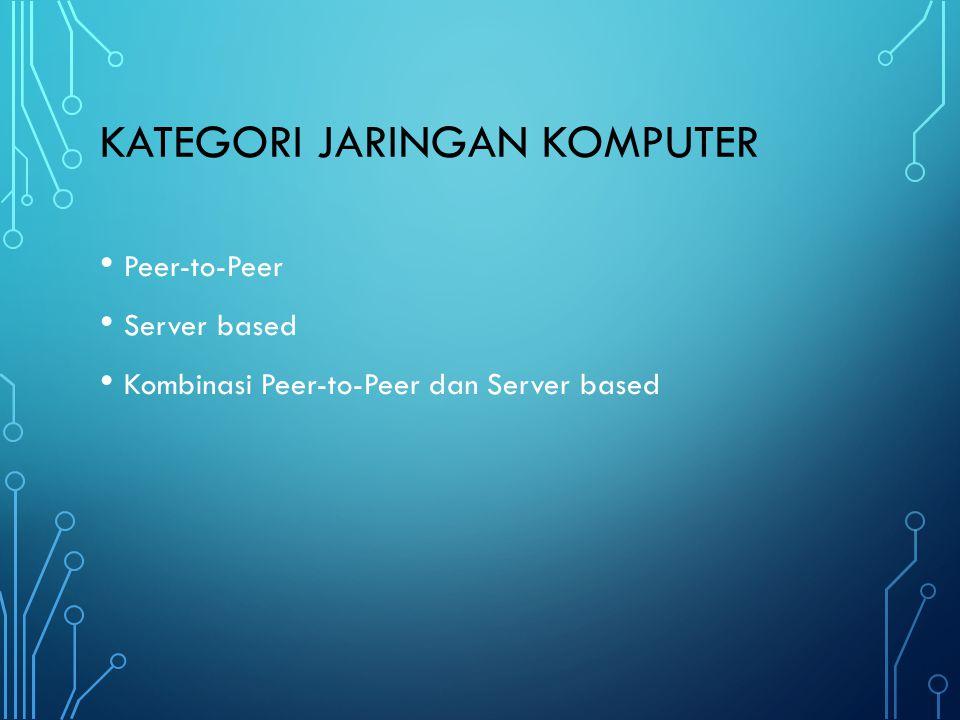 Kategori Jaringan Komputer