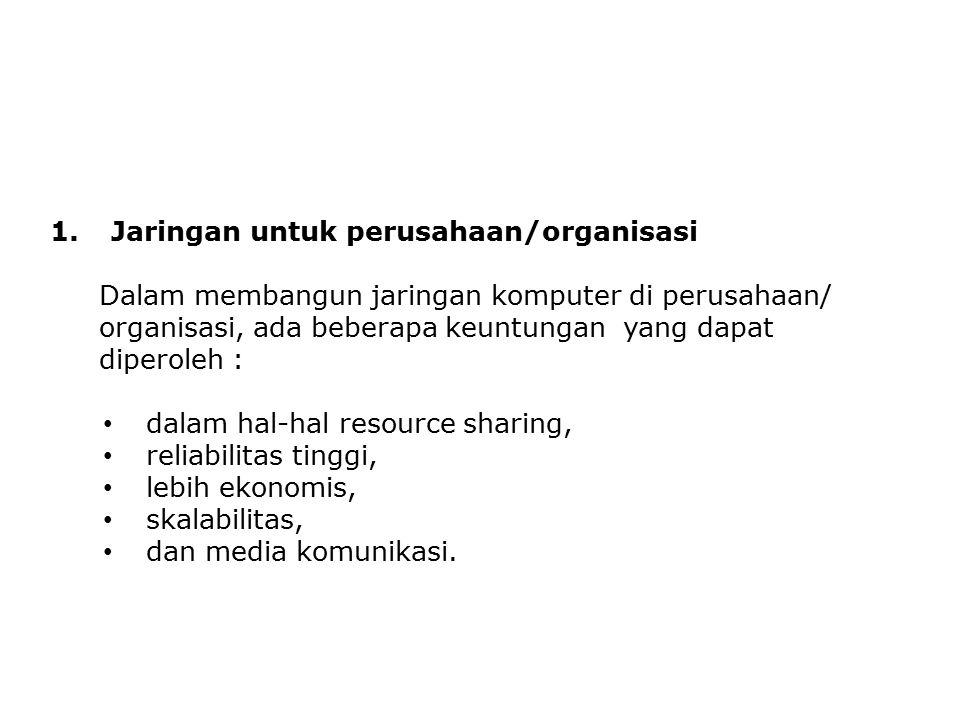 Jaringan untuk perusahaan/organisasi