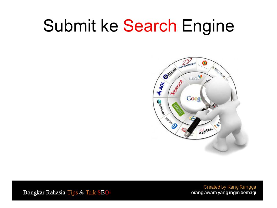 Submit ke Search Engine