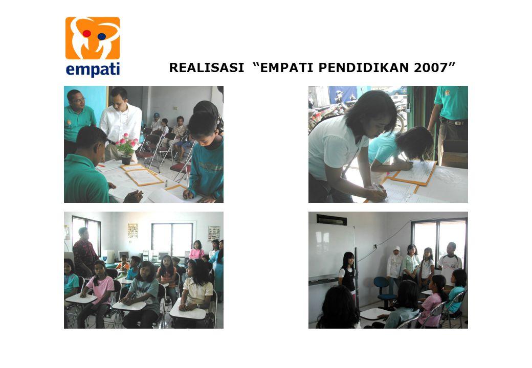 REALISASI EMPATI PENDIDIKAN 2007