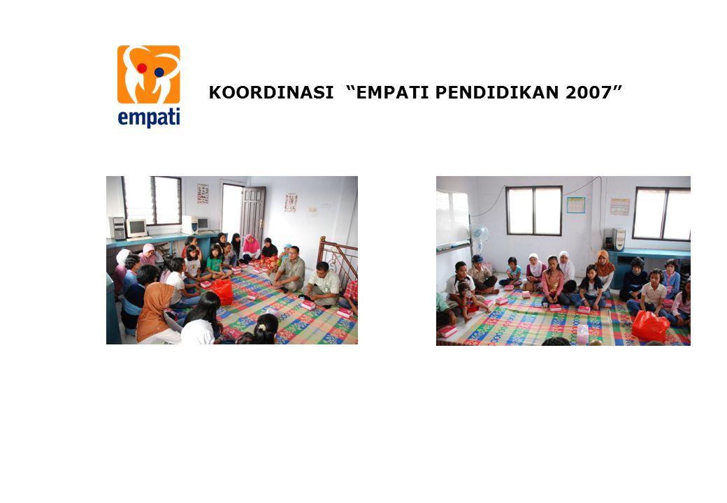 KOORDINASI EMPATI PENDIDIKAN 2007