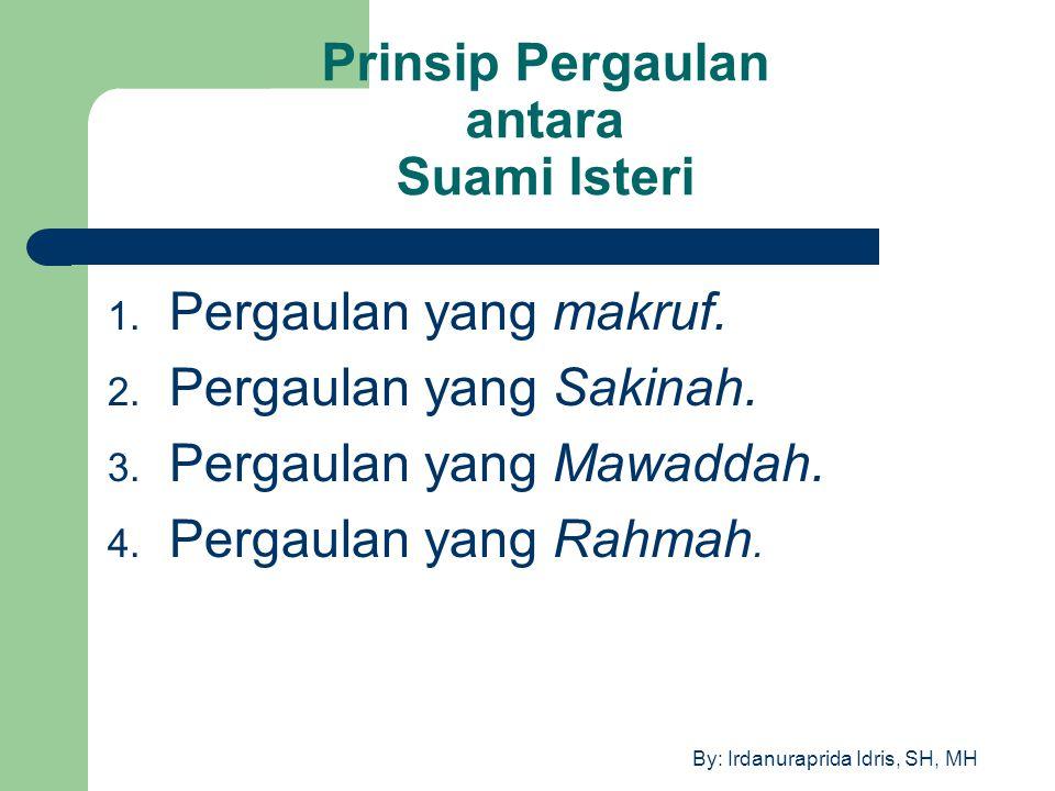 Prinsip Pergaulan antara Suami Isteri
