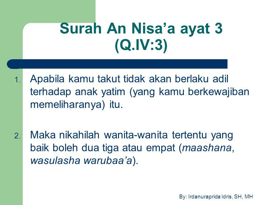Surah An Nisa'a ayat 3 (Q.IV:3)