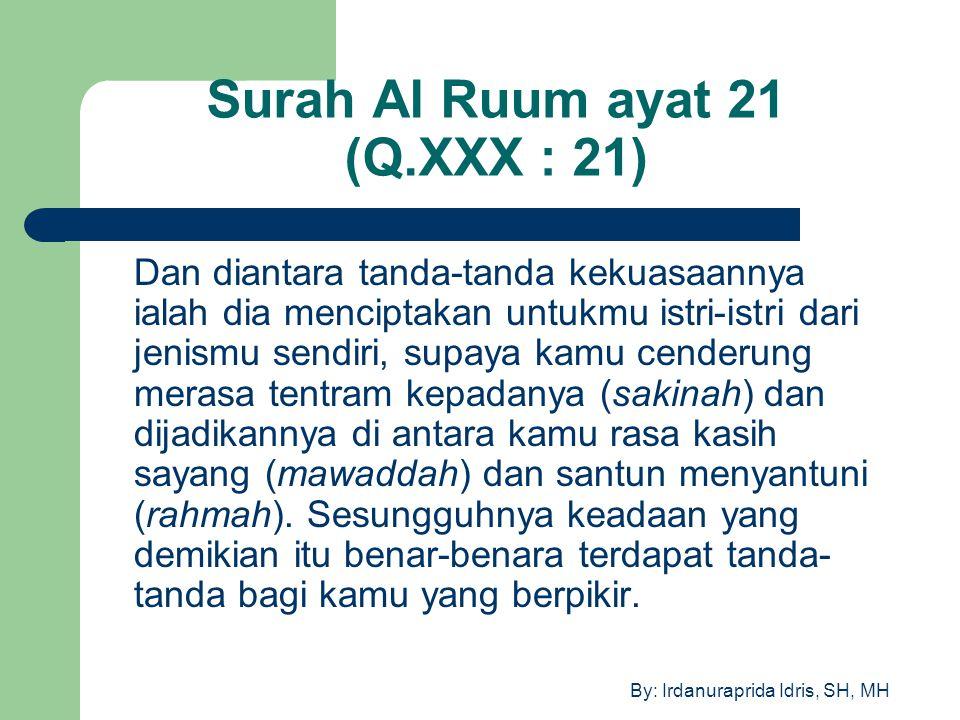Surah Al Ruum ayat 21 (Q.XXX : 21)