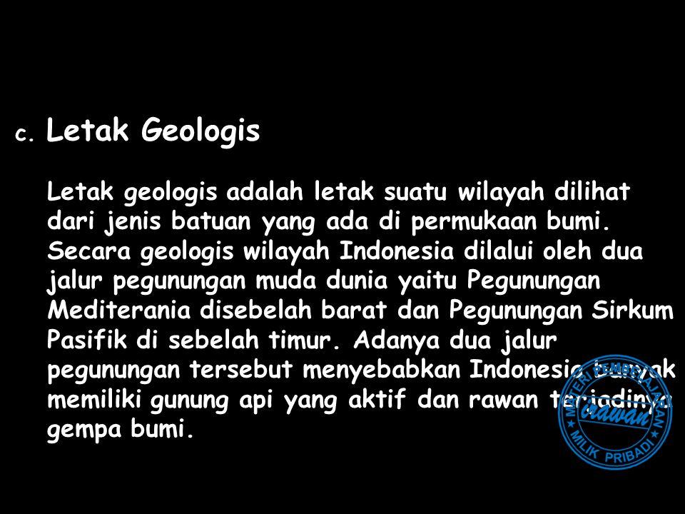 dari jenis batuan yang ada di permukaan bumi.