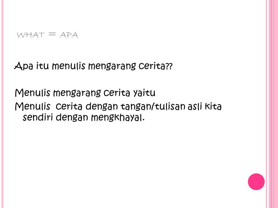 what = apa