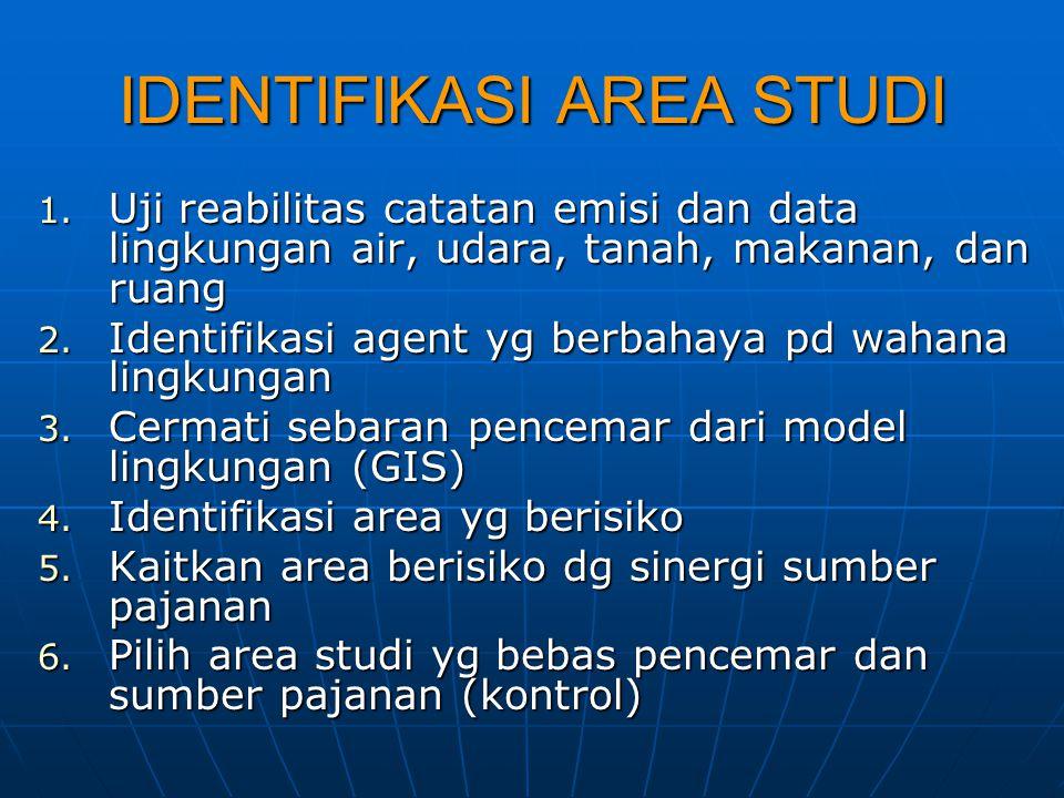 IDENTIFIKASI AREA STUDI
