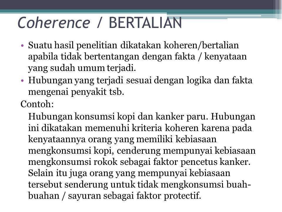 Coherence / BERTALIAN