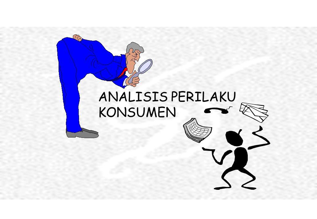 ANALISIS PERILAKU KONSUMEN
