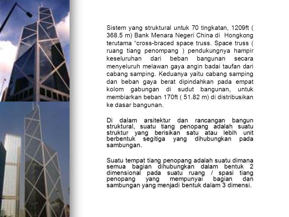 Sistem yang struktural untuk 70 tingkatan, 1209ft ( 368