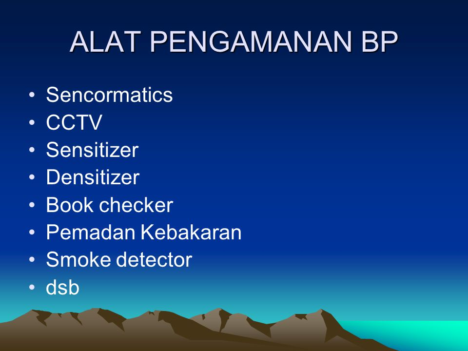ALAT PENGAMANAN BP Sencormatics CCTV Sensitizer Densitizer