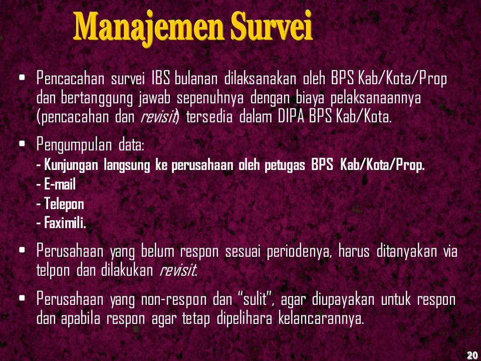 Manajemen Survei