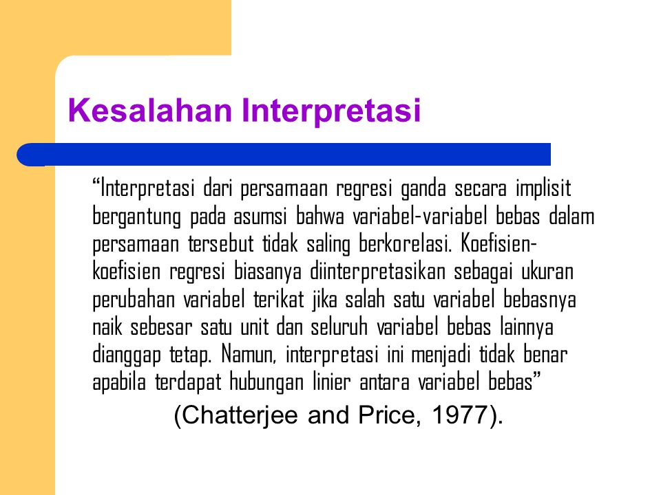 Kesalahan Interpretasi