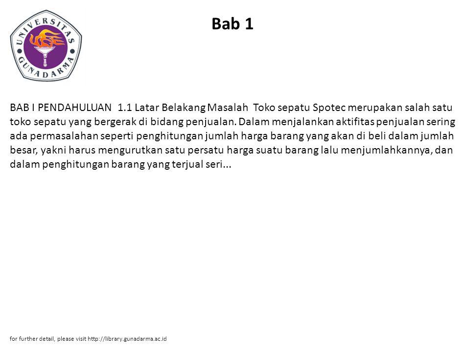 Bab 1