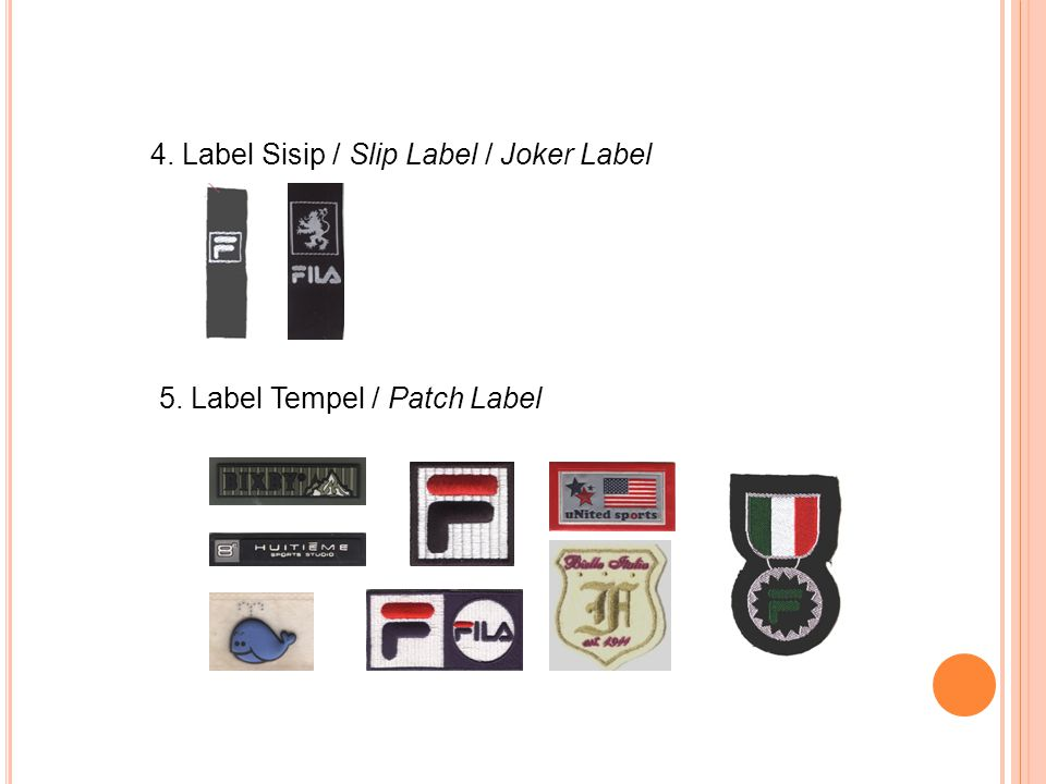 4. Label Sisip / Slip Label / Joker Label
