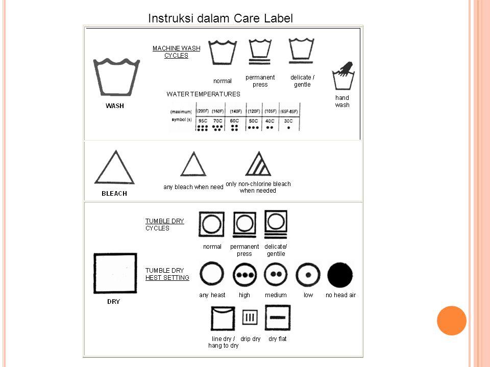 Instruksi dalam Care Label