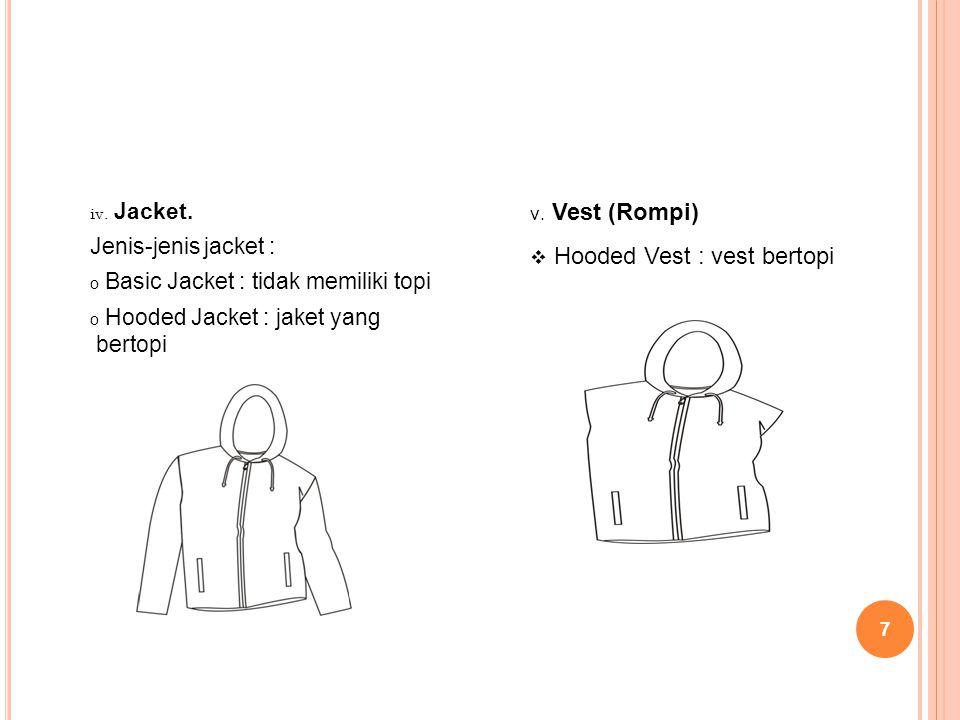 Hooded Vest : vest bertopi