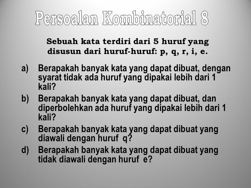 Persoalan Kombinatorial 8