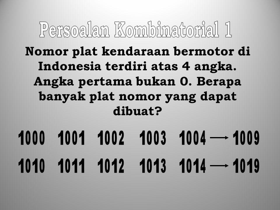 Persoalan Kombinatorial 1