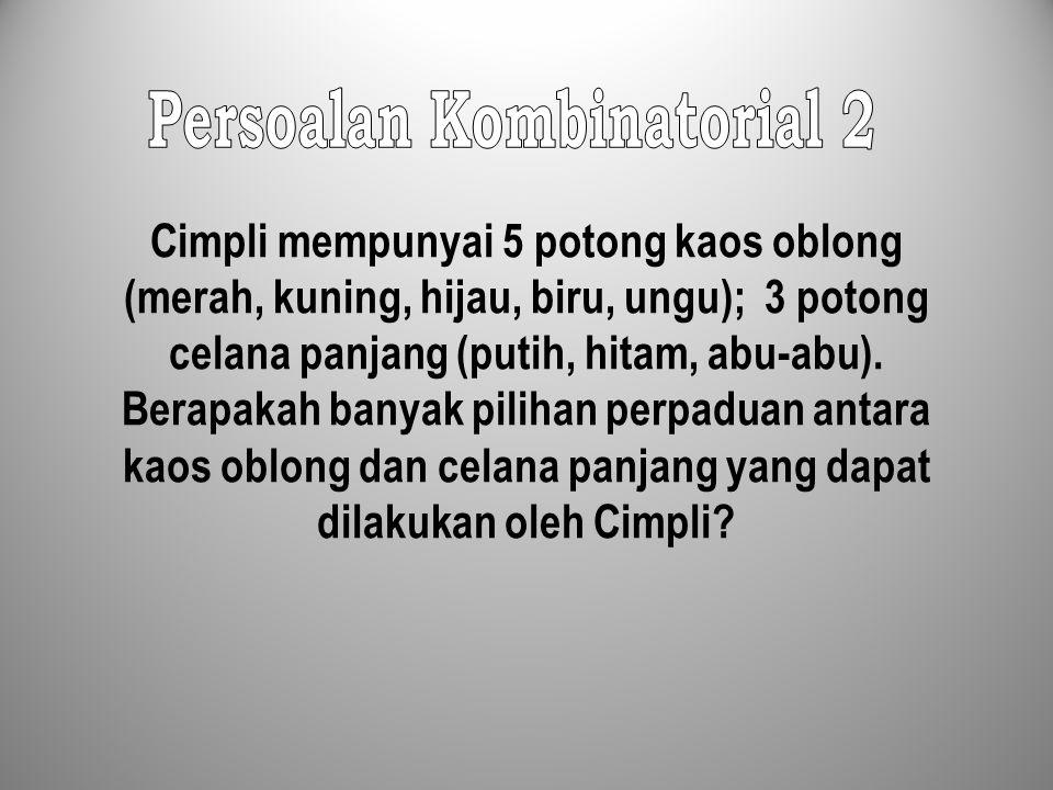 Persoalan Kombinatorial 2
