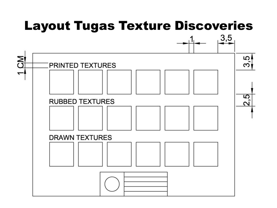 Layout Tugas Texture Discoveries