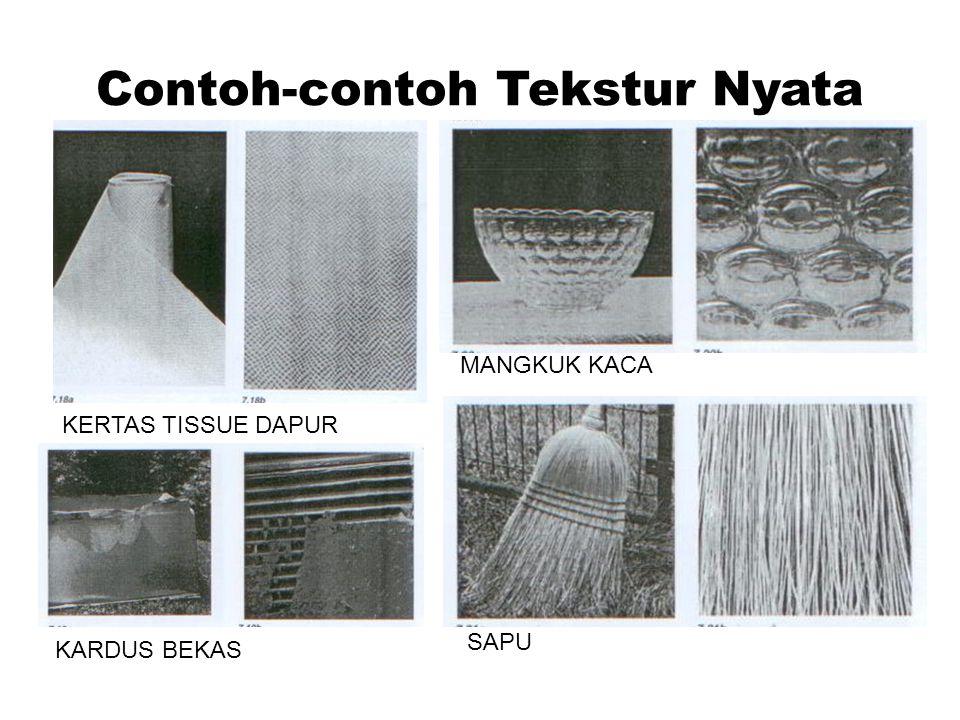 Contoh-contoh Tekstur Nyata