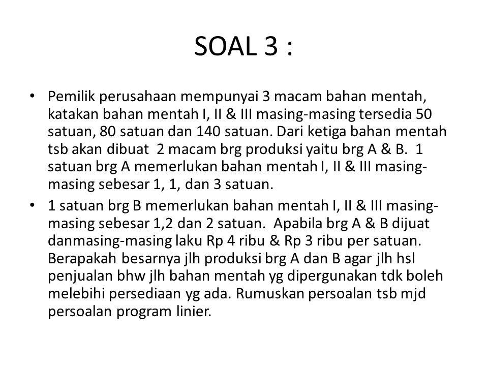 SOAL 3 :