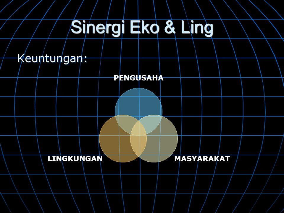Sinergi Eko & Ling Keuntungan:
