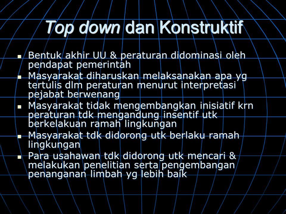 Top down dan Konstruktif