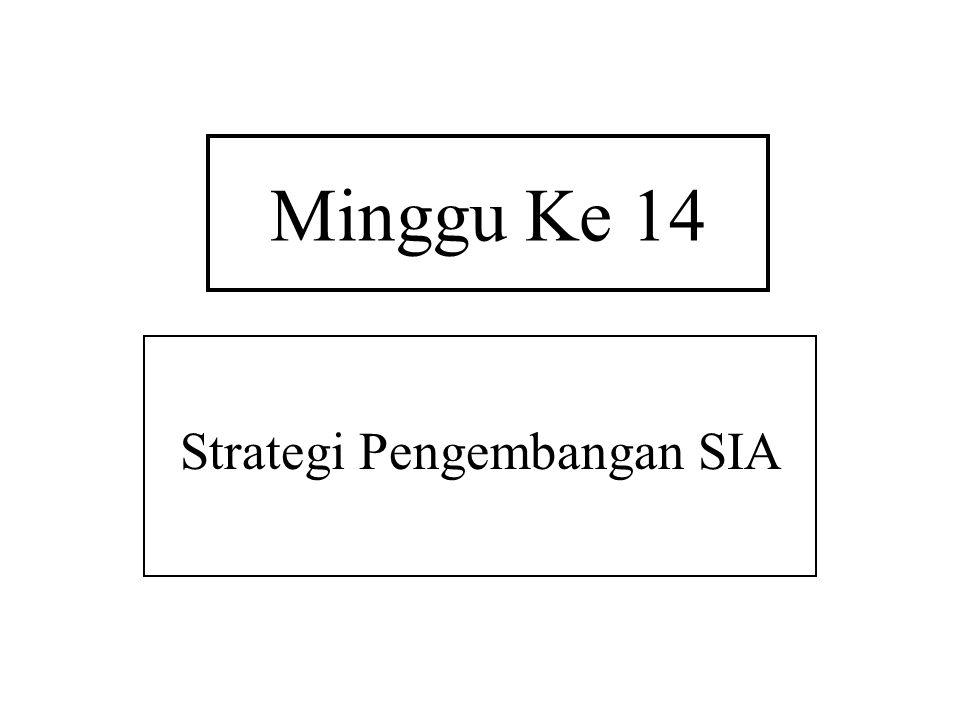 Strategi Pengembangan SIA