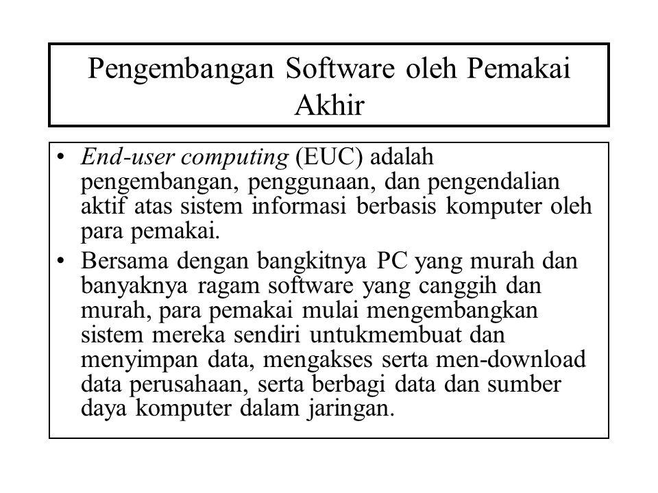 Pengembangan Software oleh Pemakai Akhir