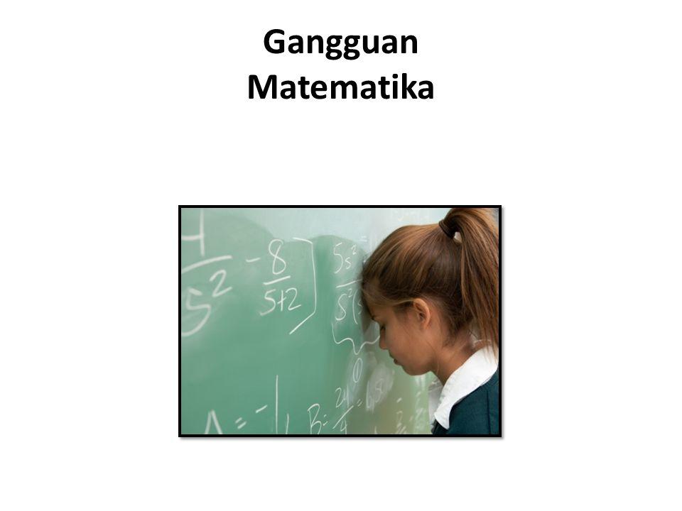 Gangguan Matematika