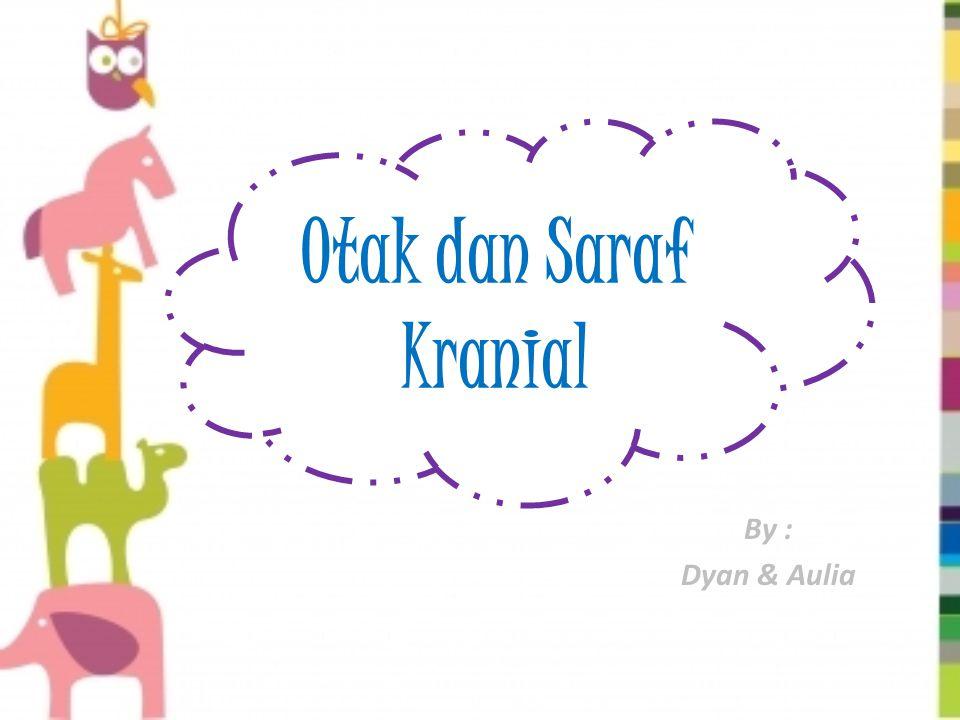 Otak dan Saraf Kranial By : Dyan & Aulia