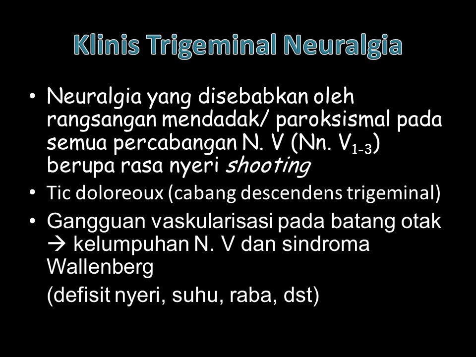Klinis Trigeminal Neuralgia