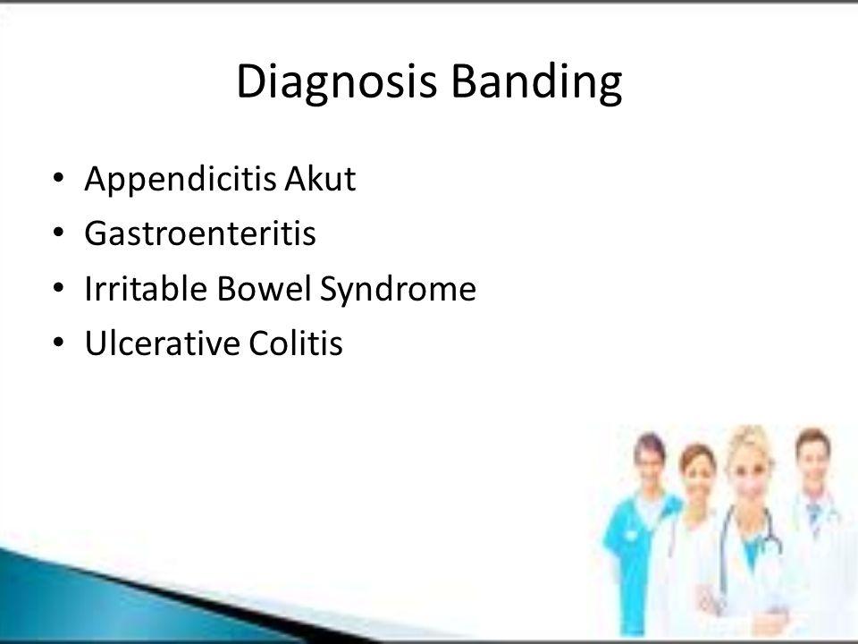 Diagnosis Banding Appendicitis Akut Gastroenteritis