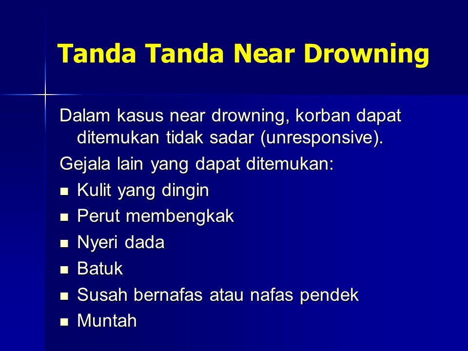 Tanda Tanda Near Drowning