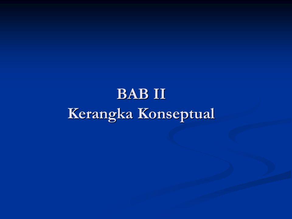 BAB II Kerangka Konseptual