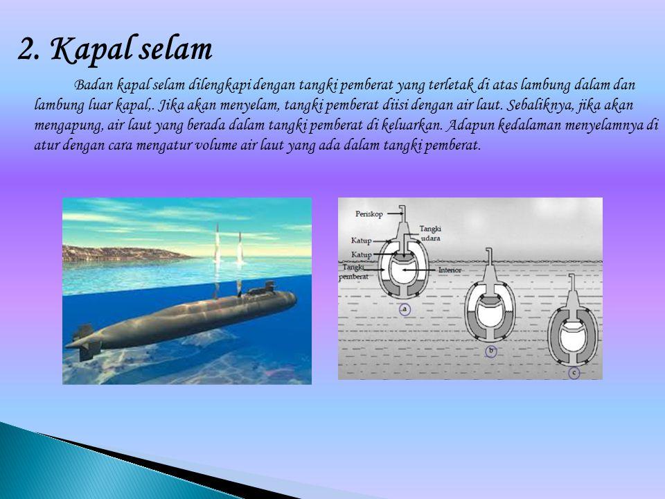 2. Kapal selam