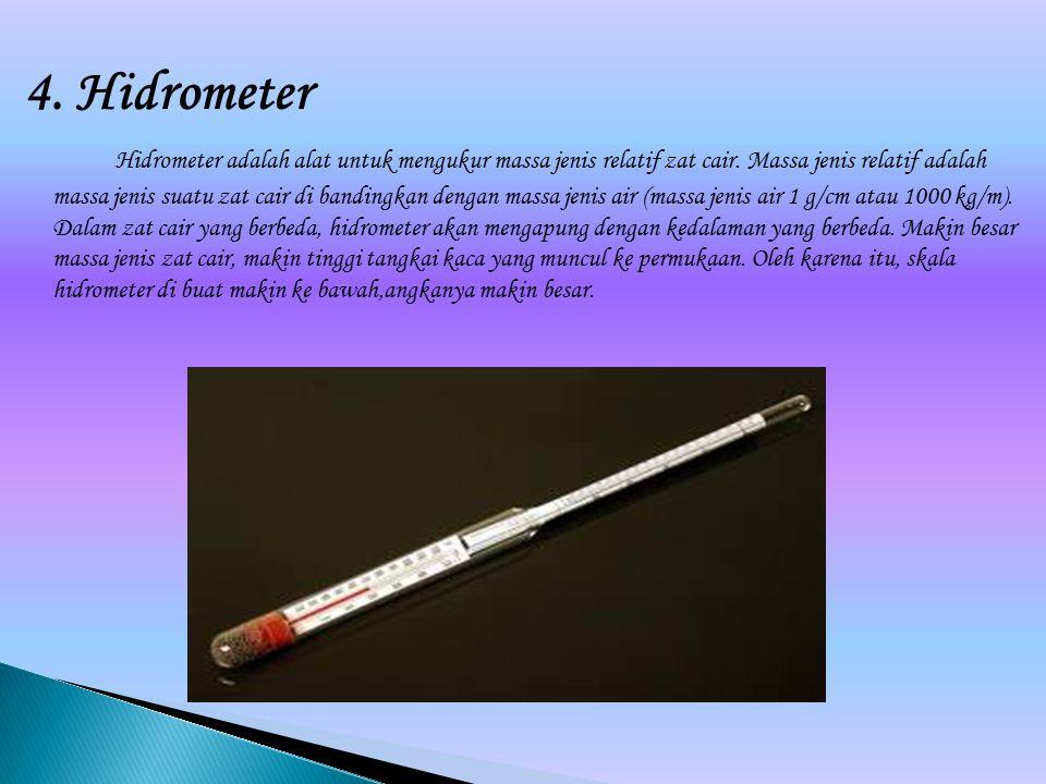4. Hidrometer