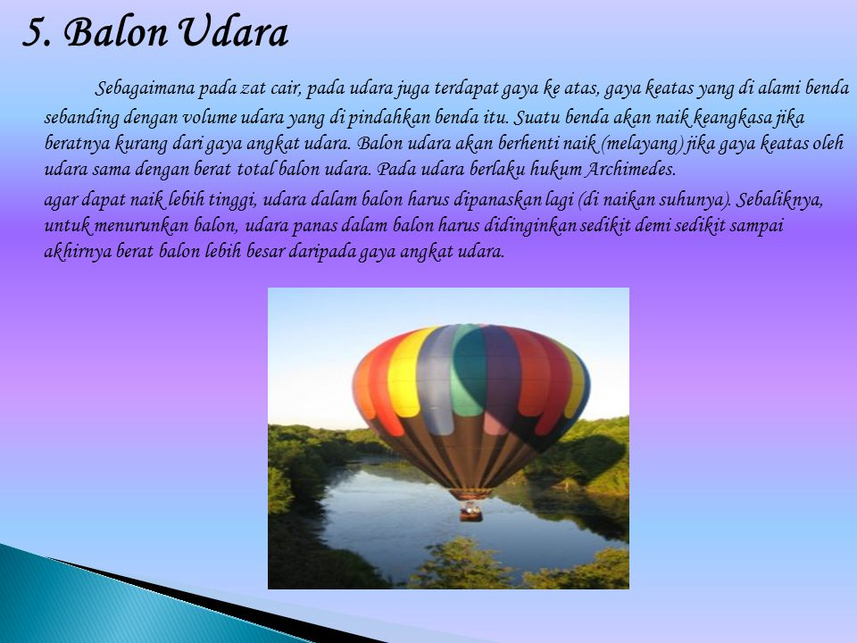 5. Balon Udara