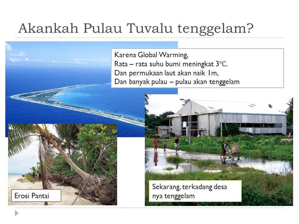 Akankah Pulau Tuvalu tenggelam