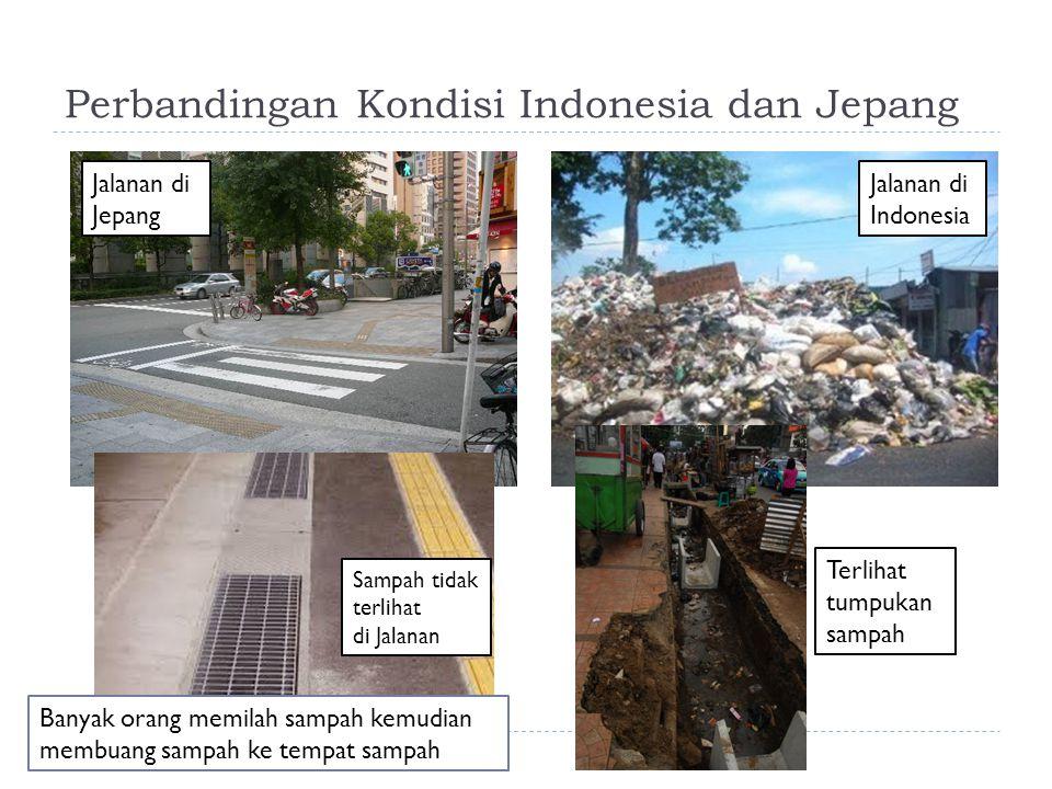 Perbandingan Kondisi Indonesia dan Jepang