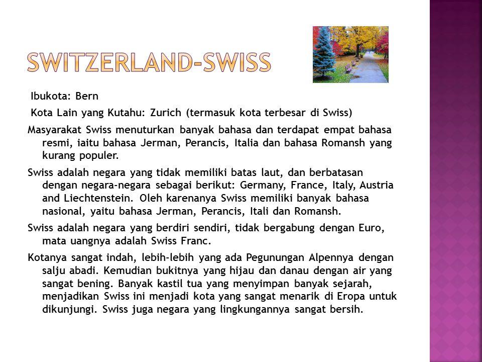 SWITZERLAND-SWISS
