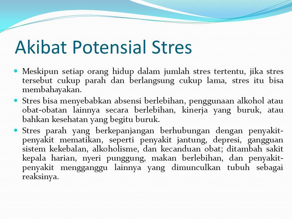 Akibat Potensial Stres