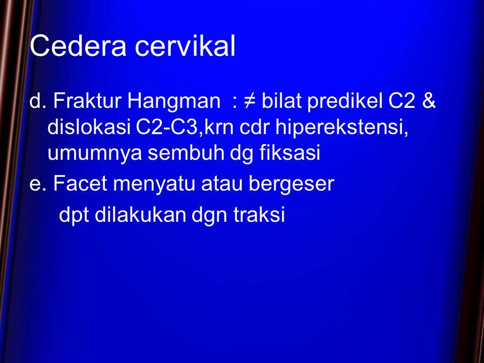 Cedera cervikal