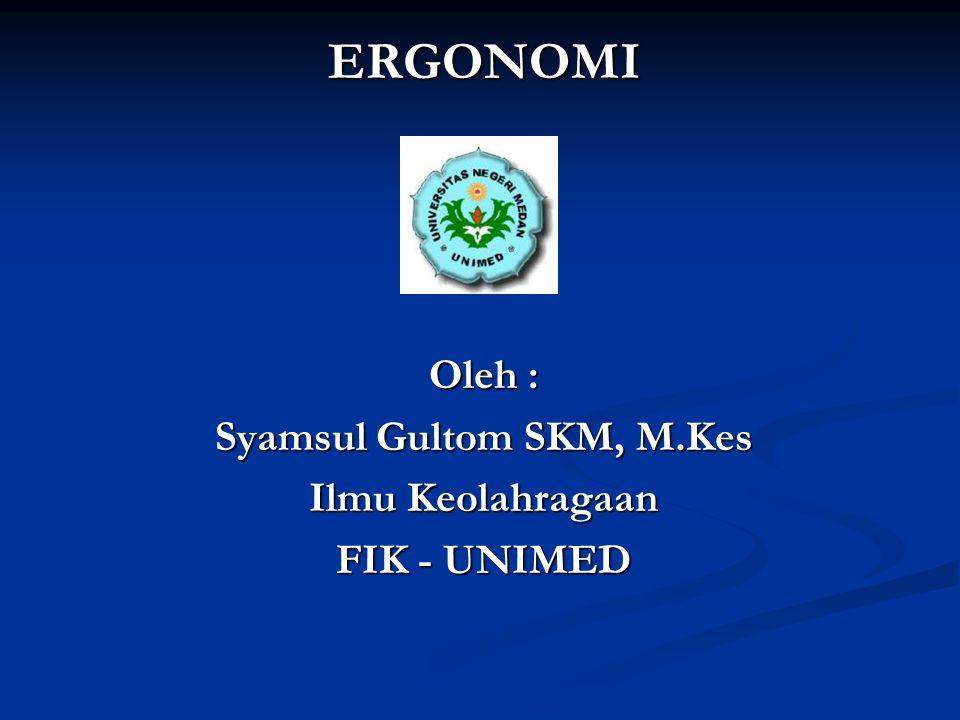 Syamsul Gultom SKM, M.Kes