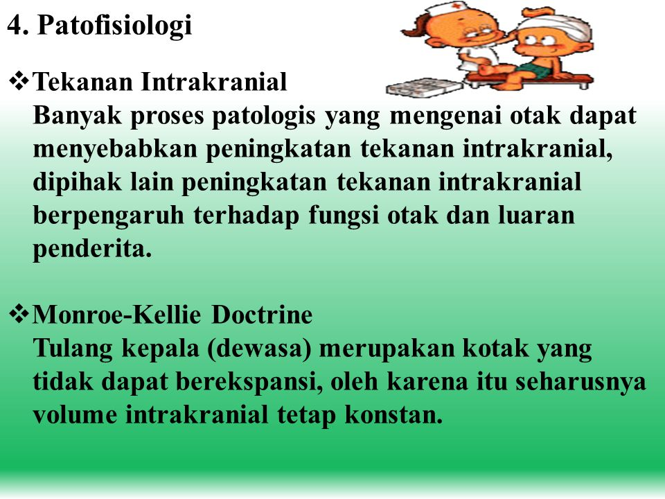 4. Patofisiologi Tekanan Intrakranial