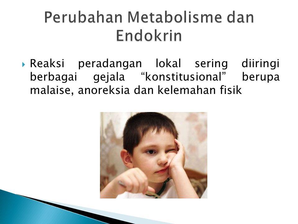 Perubahan Metabolisme dan Endokrin