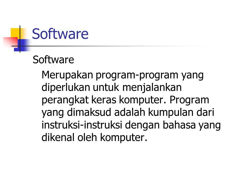Software Software.