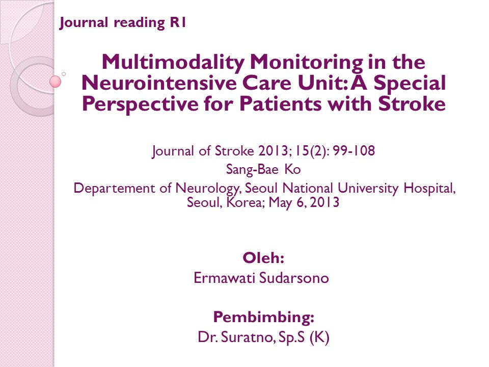 Journal of Stroke 2013; 15(2): 99-108